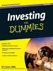 Cover of: Investing For Dummies®