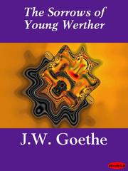 Cover of: The Sorrows of Young Werther