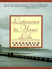 Cover of: Listening to Your Life