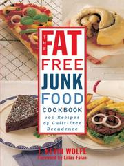 Cover of: The Fat-free Junk Food Cookbook