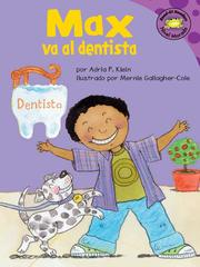 Cover of: Max va a la dentista