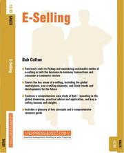 Cover of: E-Selling