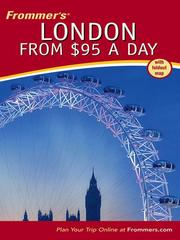 Cover of: Frommer's London from $95 a Day