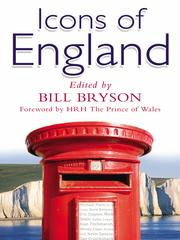 Cover of: Icons of England