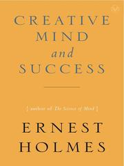 Cover of: The Creative Mind and Success