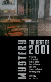 Cover of: Mystery: The Best of 2001