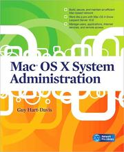 Cover of: Mac OS X System Administration