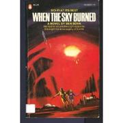 Cover of: When the sky burned