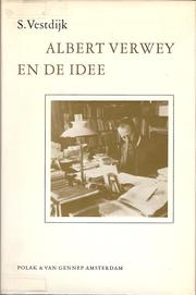 Cover of: Albert Verwey en de idee