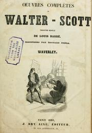 Cover of: Waverley: or, 'Tis sixty years since.