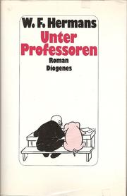 Cover of: Unter Professoren