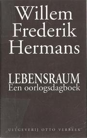 Cover of: Lebensraum