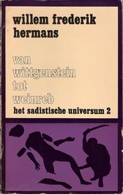 Cover of: Van Wittgenstein tot Weinreb