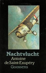 Cover of: Nachtvlucht