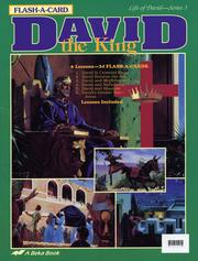 Cover of: David the King