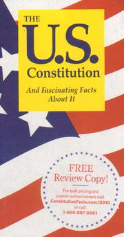 Cover of: The U.S. Constitution and Fascinating Facts About It