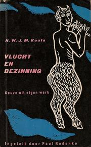 Cover of: Vlucht en bezinning
