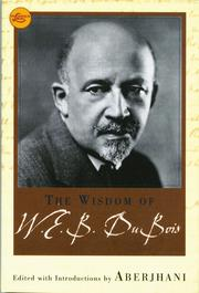 Cover of: The Wisdom of W.E.B. Du Bois (eBook)