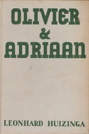 Cover of: Olivier en Adriaan