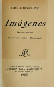 Cover of: Imágenes