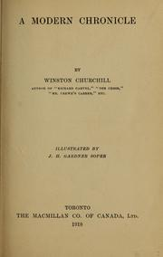 Cover of: A modern chronicle