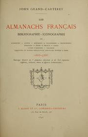Cover of: Les almanachs français