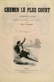 Cover of: Le chemin le plus court