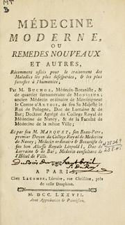 Cover of: Médecine moderne