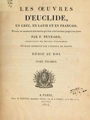 Cover of: Les oeuvres