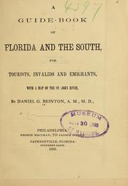 Cover of: A guide-book of Florida and the South