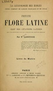 Cover of: Petite flore latine