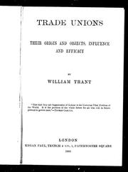 Cover of: Trade union