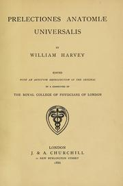 Cover of: Prelectiones anatomie universalis