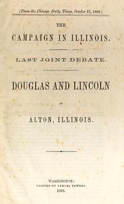 Cover of: The campaign in Illinois