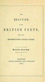 Cover of: The beauties of the