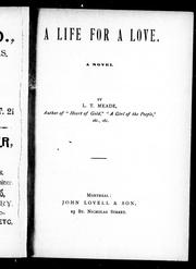 Cover of: A life for a love: a novel