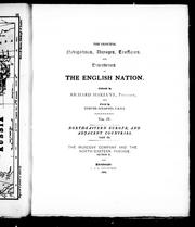 Cover of: The principal navigations, voyages, traffiques and discoveries of the English nation