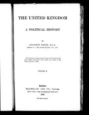 Cover of: The United Kingdom