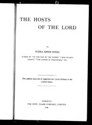 Cover of: The hosts of the Lord