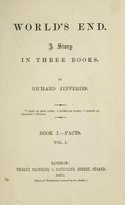 Cover of: World's end: a story in three books.