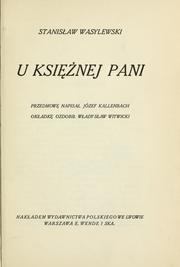 Cover of: U ksinej pani