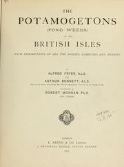 Cover of: The potamogetons (pond weeds) of the British Isles