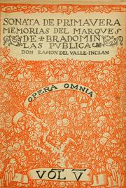 Cover of: Sonata de primavera