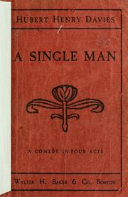 Cover of: A Single man