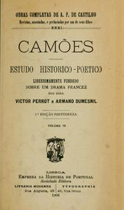 Cover of: Camões