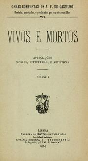 Cover of: Vivos e mortos