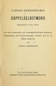Cover of: Doppelselbstmord
