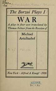 Cover of: War