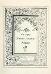 Cover of: Edward Fitzgerald, 1809-1909
