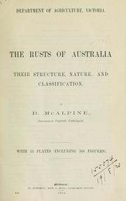 Cover of: The rusts of Australia